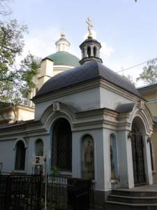 Часовня Александра Невского на Ваганьковском кладбище