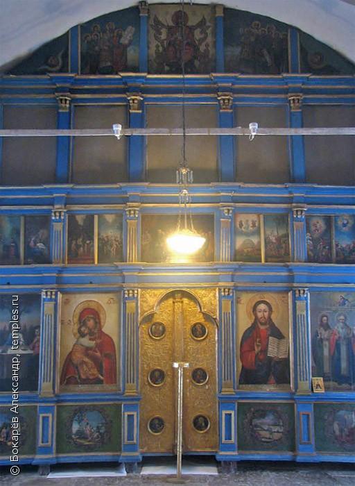 Деревянный иконостас церкви Сергия и Никандра, XVIII ст.