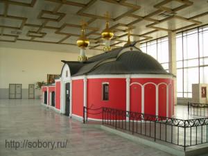 Храм-часовня Георгия Победоносца на Белорусском вокзале