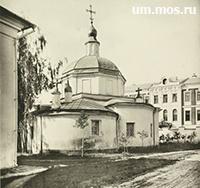 Храм Николая в Старом Ваганькове
