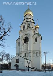 Воскресенская церковь-колокольня на Рогожском кладбище