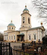 Храм иконы Божией Матери Всех скорбящих радость на Калитниковском кладбище