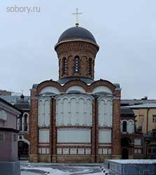 Храм Иверской иконы Божией Матери при бывшей Иверской общине сестёр милосердия