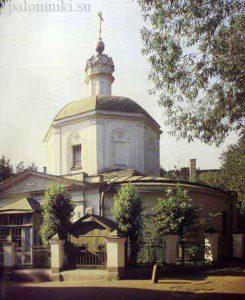 Храм Покрова Пресвятой Богородицы на Лыщиковой горе