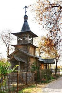 Храм-часовня Благовещения пресвятой Богородицы в Бабушкине, колокольня