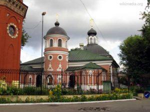 Храм Николая на Преображенском кладбище