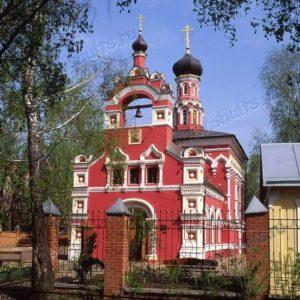 """храм иконы Божией Матери """"Скоропослушница"""" на Ходынском поле"""