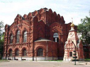 Храм Спаса Всемилостивого бывшего Скорбященского монастыря