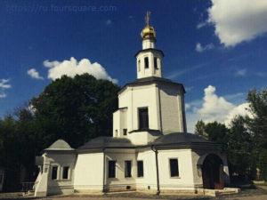 Церковь Спаса Нерукотворного Образа в Гирееве