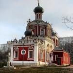 Храм Троицы Живоначальной в Конькове