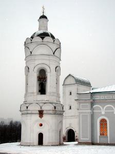 Колокольня храма Вознесения Господня и Георгия Победоносца