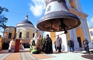 Освящение колокольни