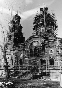 Храм Всех Святых бывшего Ново-Алексеевского монастыря