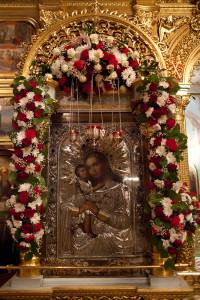 Икона «Взыскание погибших» в храме Воскресения Словущего на Успенском Вражке.