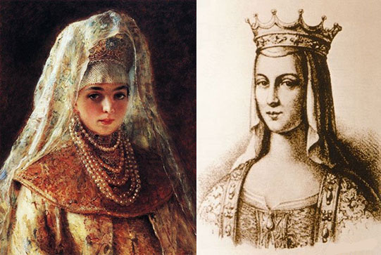 Соломия Сабурова, Елена Глинская