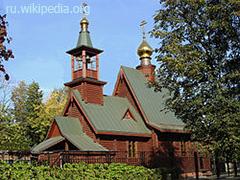 Храм Иоанна Русского в Фили-Давыдкове