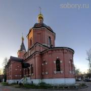 Храм Дмитрия Солунского в поселке Восточный