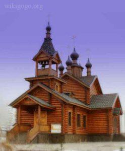 Храм Святых равноапостольных Константина и Елены в честь Почаевской иконы Божьей Матери в Митине