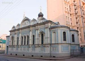Храм Успения Пресвятой Богородицы на Успенском Вражке