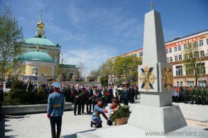 Памятник солдатам и офицерам Преображенского полка