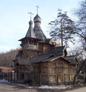 Храм-часовня Благовещения пресвятой Богородицы в Бабушкине