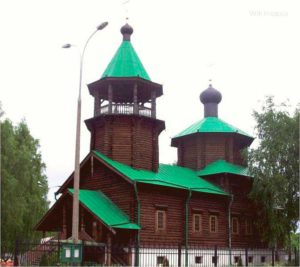 Храм Святого Праведного Иоанна Кронштадтского в Жулебине